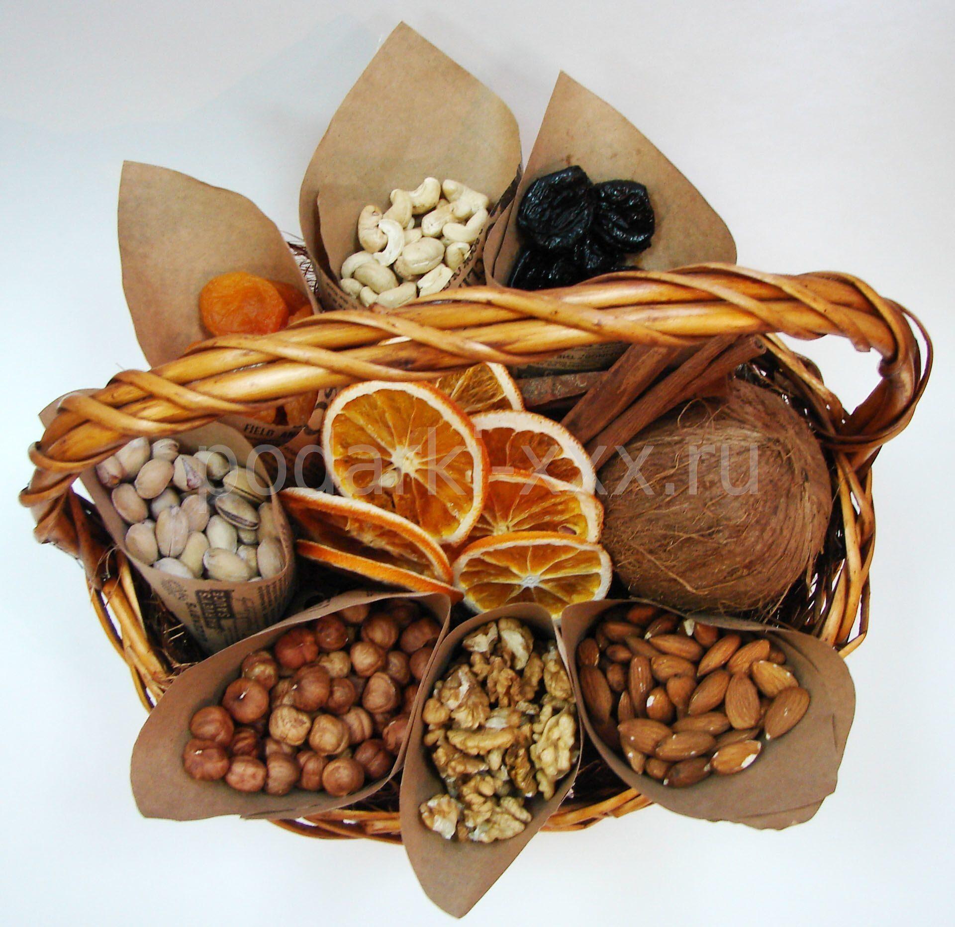 Шоколадные букеты своими руками орешки